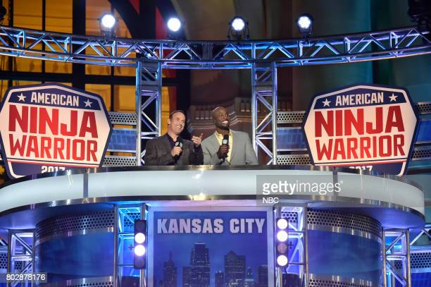 WARRIOR 'Kansas City Qualifier' Pictured Matt Iseman Akbar Gbajabiamila