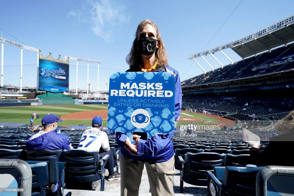 Texas Rangers v Kansas City Royals : Foto jornalística