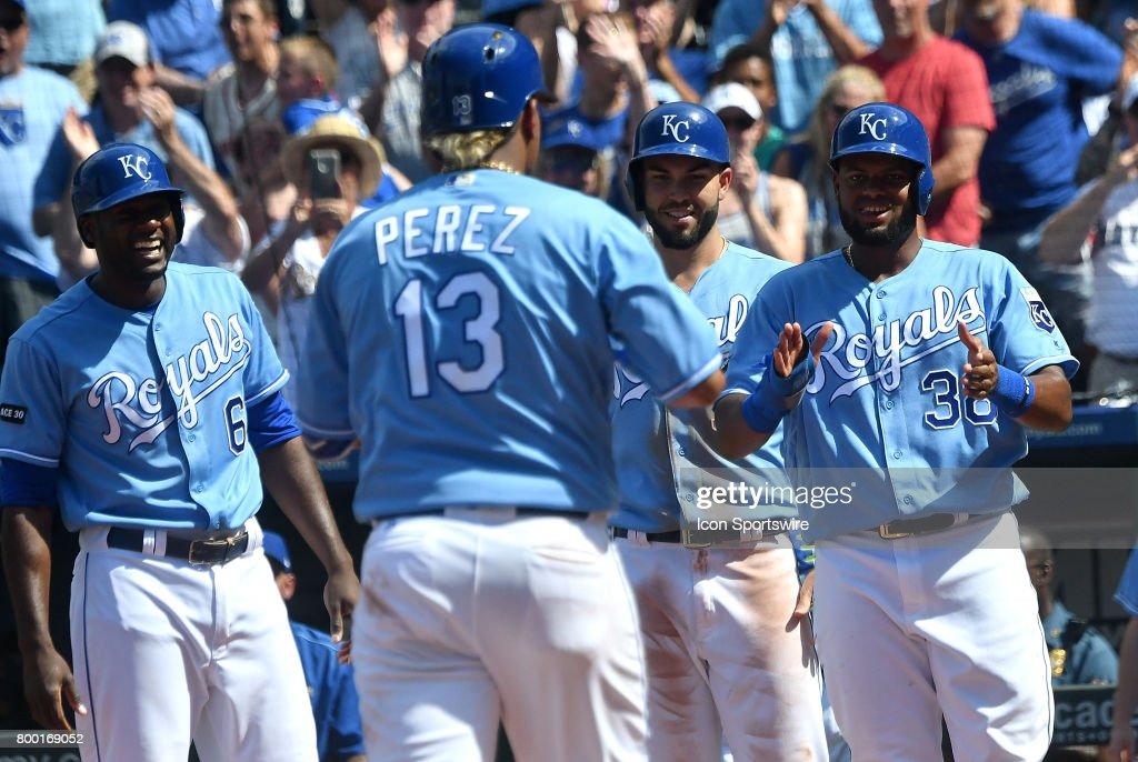 MLB: JUN 21 Red Sox at Royals : News Photo