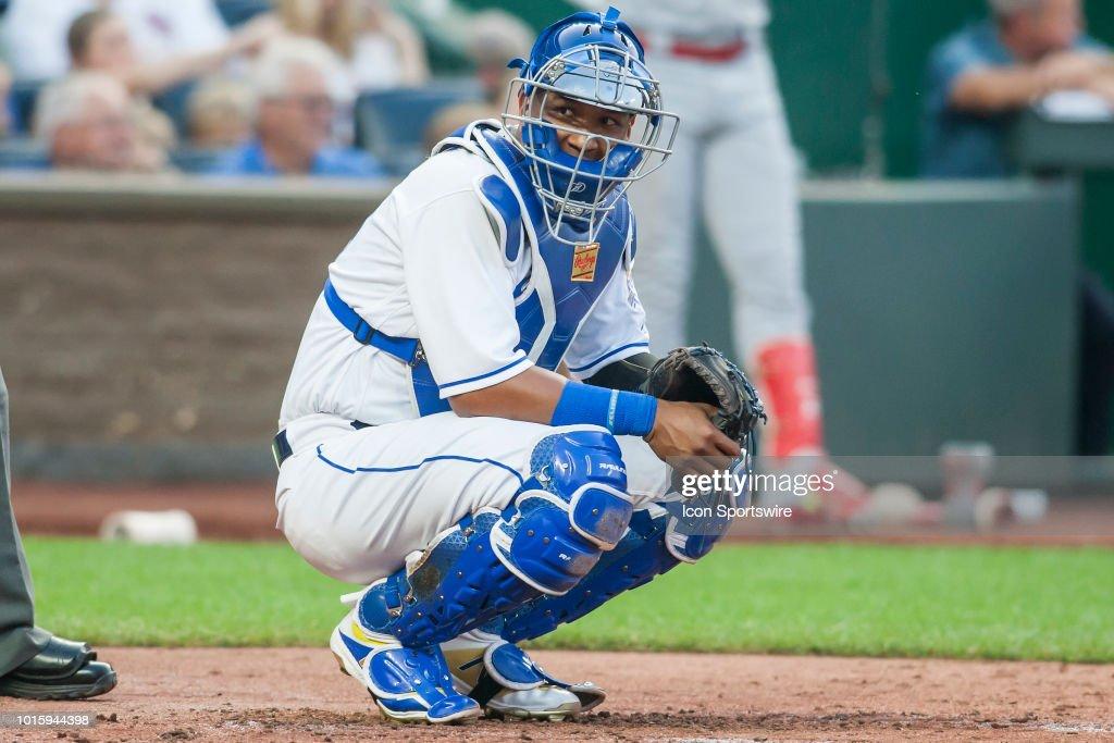 MLB: AUG 10 Cardinals at Royals : News Photo