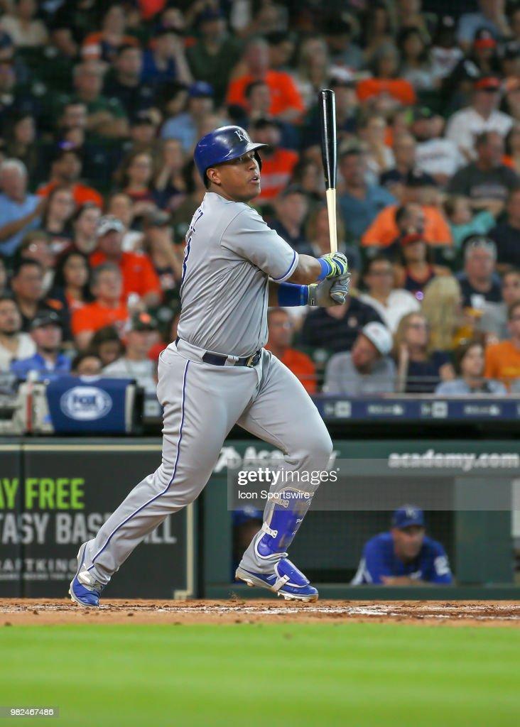 MLB: JUN 23 Royals at Astros : News Photo