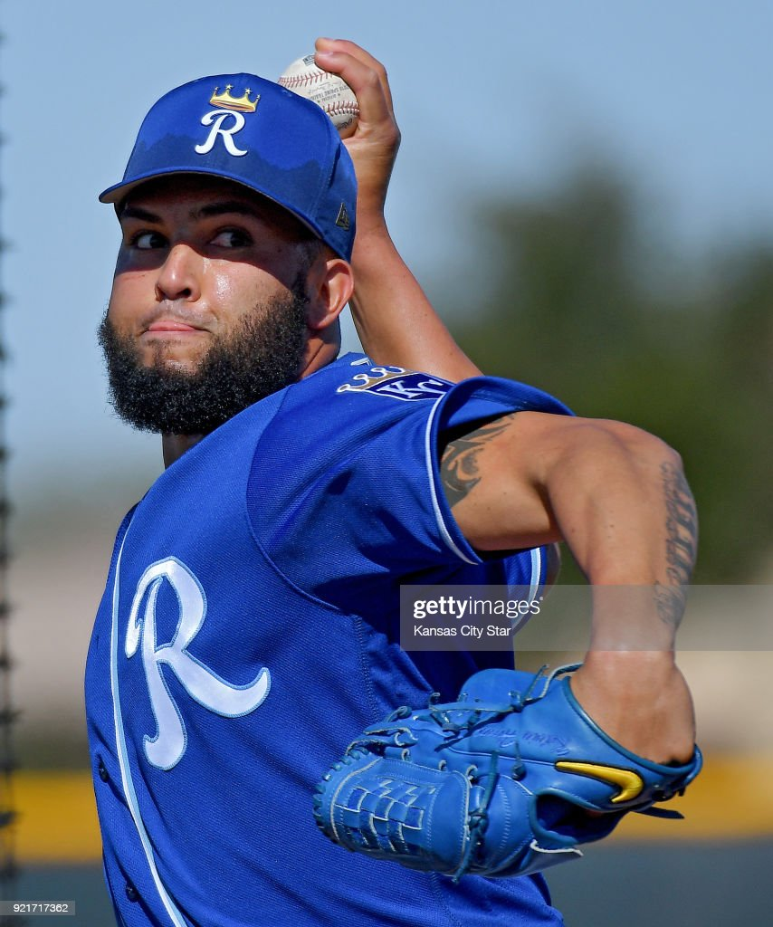Kansas City Royals spring training : Nachrichtenfoto