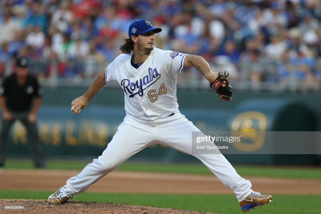 MLB: JUL 06 Red Sox at Royals : News Photo