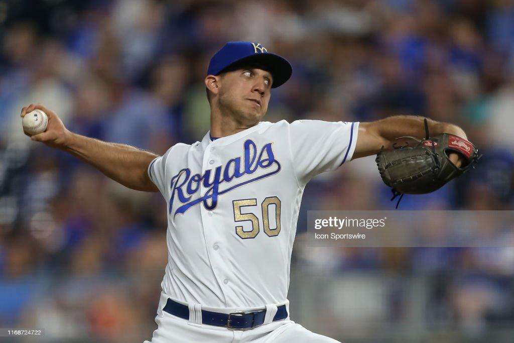 MLB: SEP 13 Astros at Royals : ニュース写真