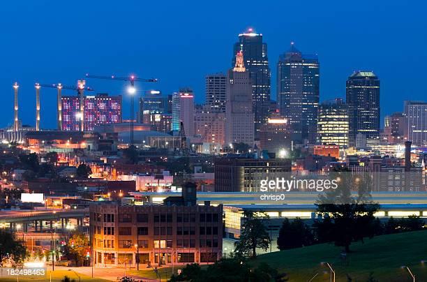 Kansas City Skyline at Dusk