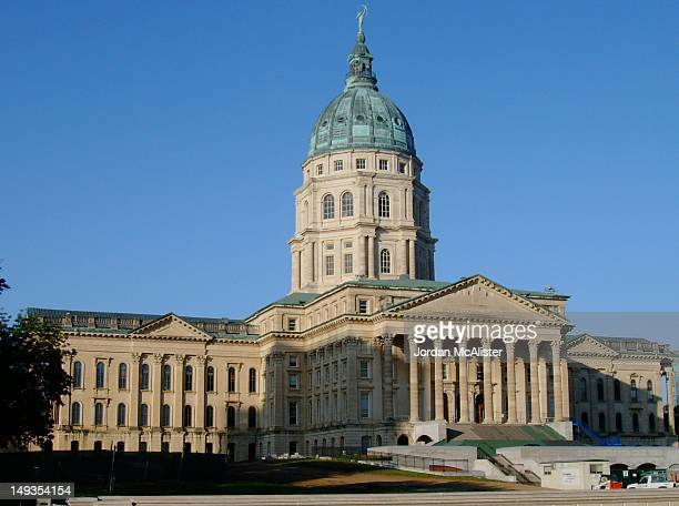 kansas state capitol - kansas kansas state stock pictures, royalty-free photos & images