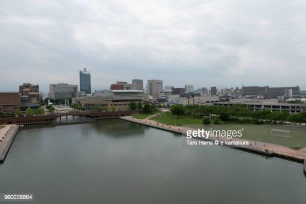 kansui park in toyama city in japan - 富山県 ストックフォトと画像