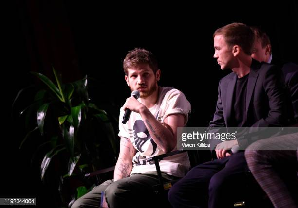 Kantemir Balagov and Jan Komasa attend Shortlisted Best International Feature Film Panel at the 31st Annual Palm Springs International Film Festival...