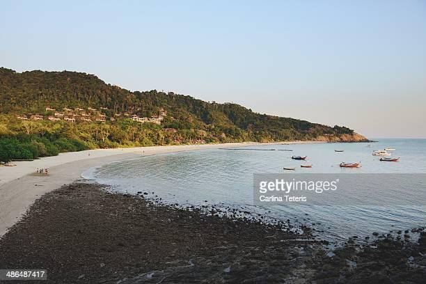 Kantiang Bay in the morning