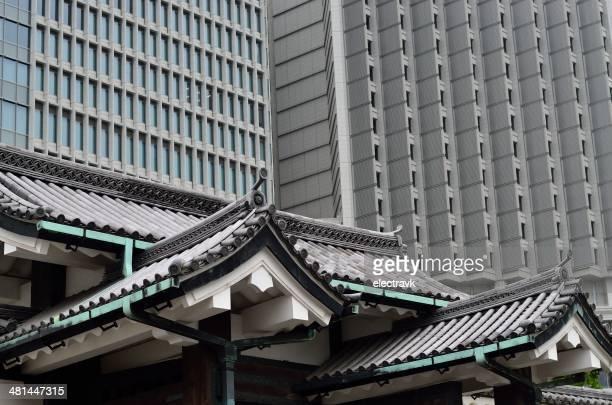 kanuki theater - chuo dori street stock photos and pictures