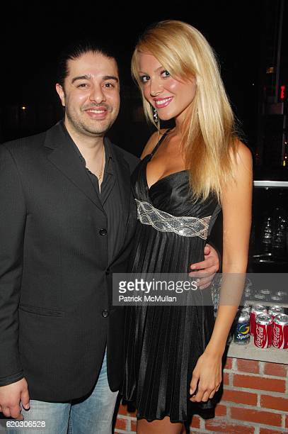 Kanvar Singh and Jelena Mandic attend GONZO post screening party at Night Hotel NYC on June 25 2008 in New York City