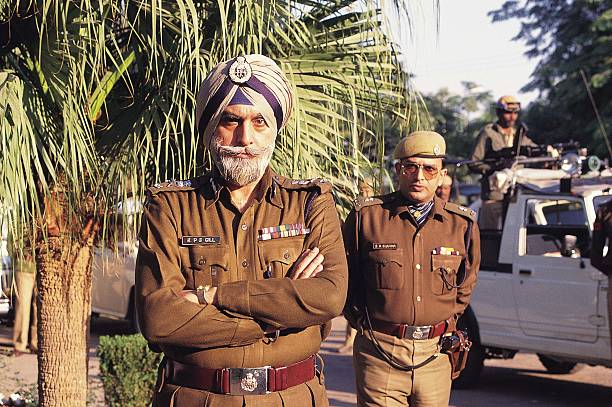 Kanwar Pal Singh Gill or KPS Gill DirectorGeneral of Police Punjab