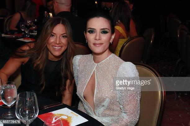 Kany Garcia and her girlfriend Jocelyn Troche attend ASCAP Latin Music Awards at Condado Vanderbilt Hotel on March 15 2017 in San Juan Puerto Rico