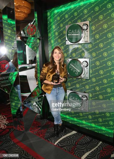 Kany Garcia attends the gift lounge during the 19th annual Latin GRAMMY Awards at MGM Grand Garden Arena on November 13 2018 in Las Vegas Nevada