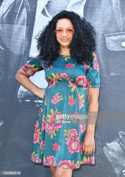 Kanya King attends the UK premiere of Yardie at the BFI Southbank on August 21 2018 in London England