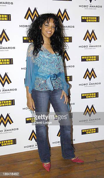 Kanya King during 2006 MOBO Awards Nominations Outside Arrivals at Proud Gallery in London Great Britain