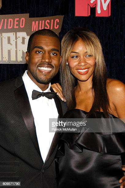 Kanye West and Alexia attend 2007 MTV VMA'S ARRIVALS at The Palms Hotel and Casino on September 9 2007 in Las Vegas NV