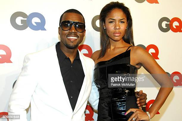 Kanye West and Alexis Phifer attend GQ MAGAZINE Celebrates 50 Years of GQ featuring a performance by KANYE WEST at Cedar Lake on September 18 2007 in...