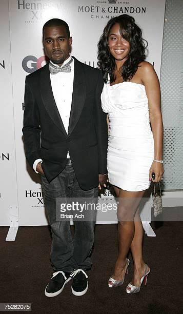 Kanye West and Alexis Phifer
