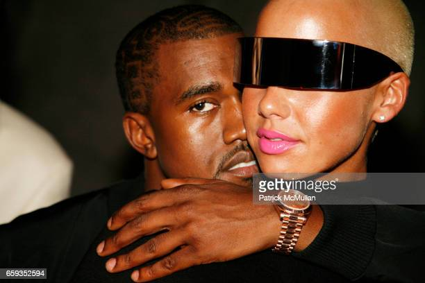 Kanye West and Amber Rose attend PAPER Magazine 25th Anniversary Party at New York Public Library on September 8 2009 in New York City