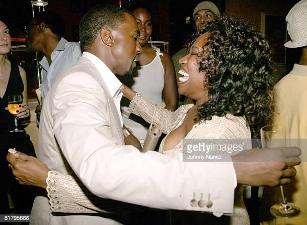 Kanye West and His Mom Donda West