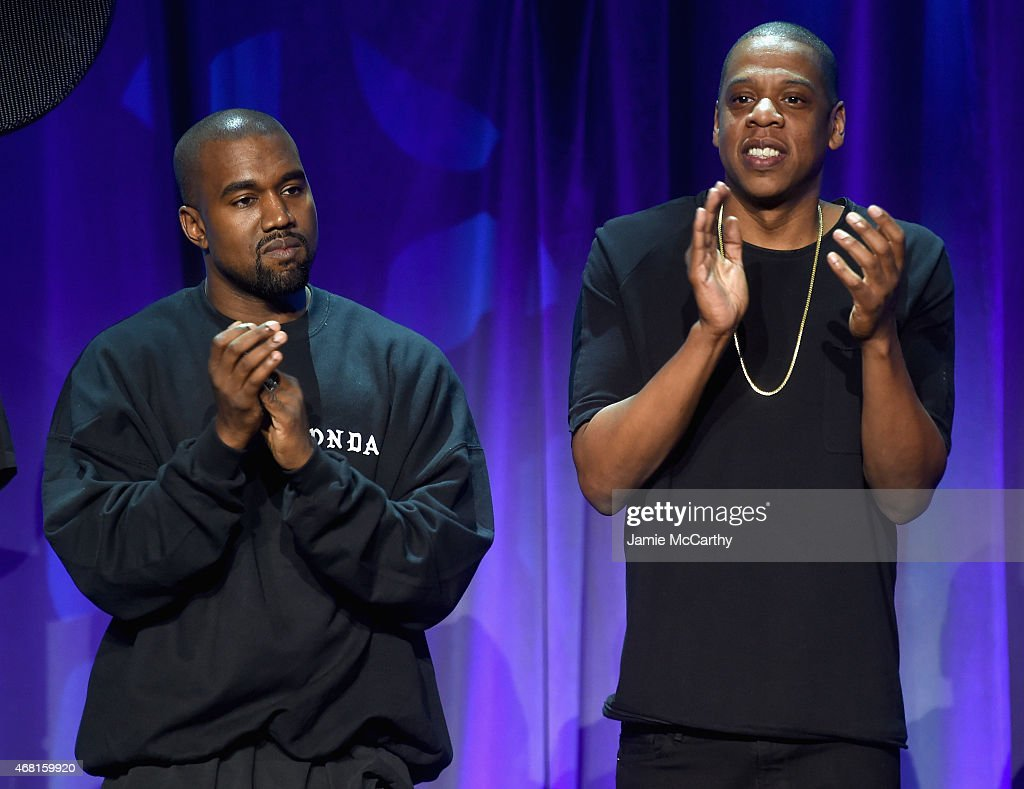 Jay Z buries his long-time feud with Kanye West...well almost