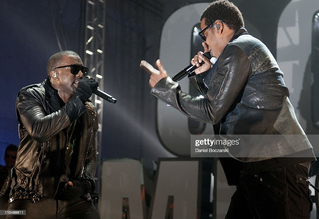 VEVO Presents: G.O.O.D. Music Featuring Kanye West, John Legend, Common, Kid Cudi + More : News Photo