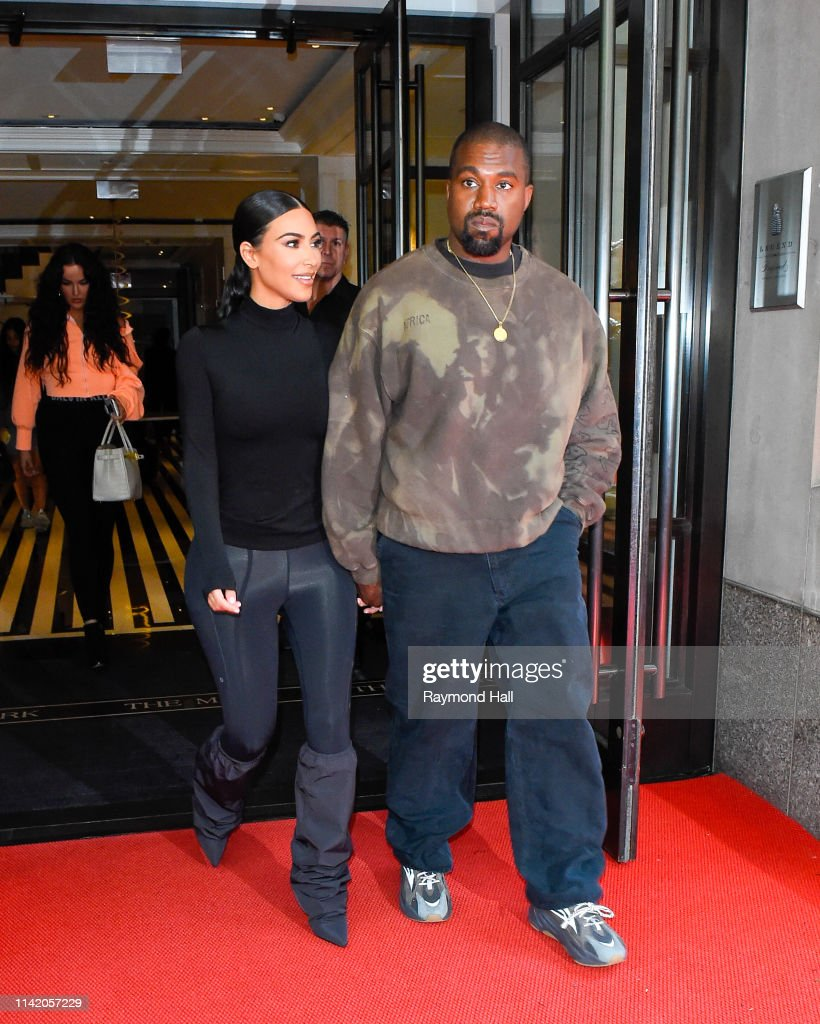 Celebrity Sightings In New York City - May 07, 2019 : Nieuwsfoto's