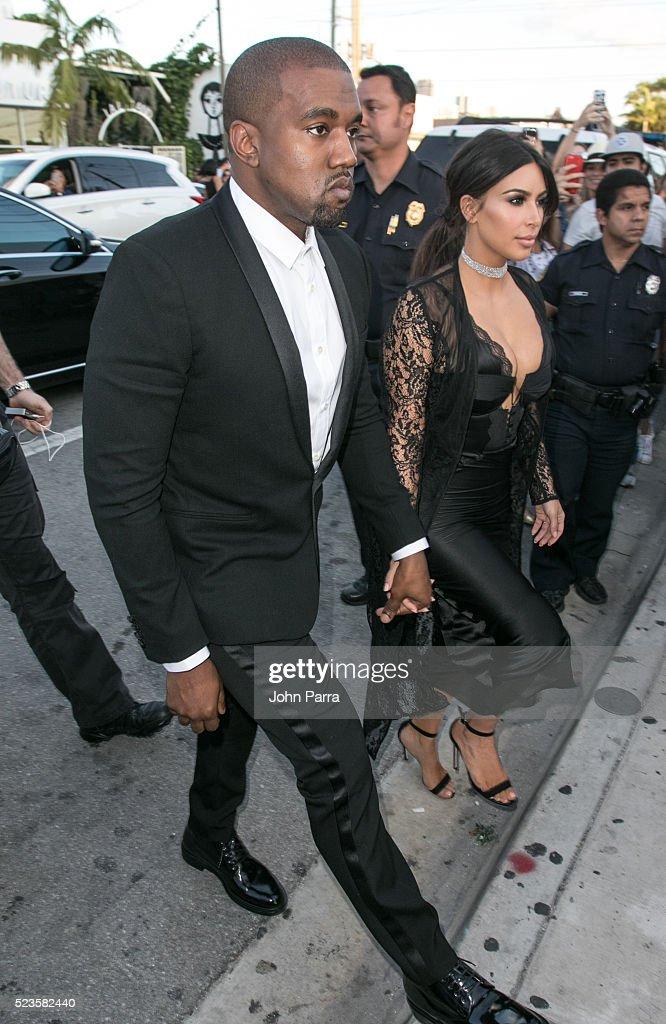 Celebrity Sightings In Miami - April 23, 2016 : News Photo