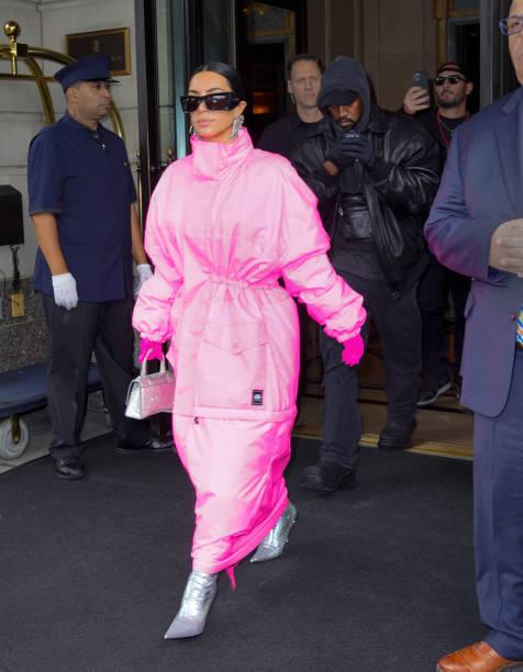 NY: Celebrity Sightings In New York City - October 09, 2021