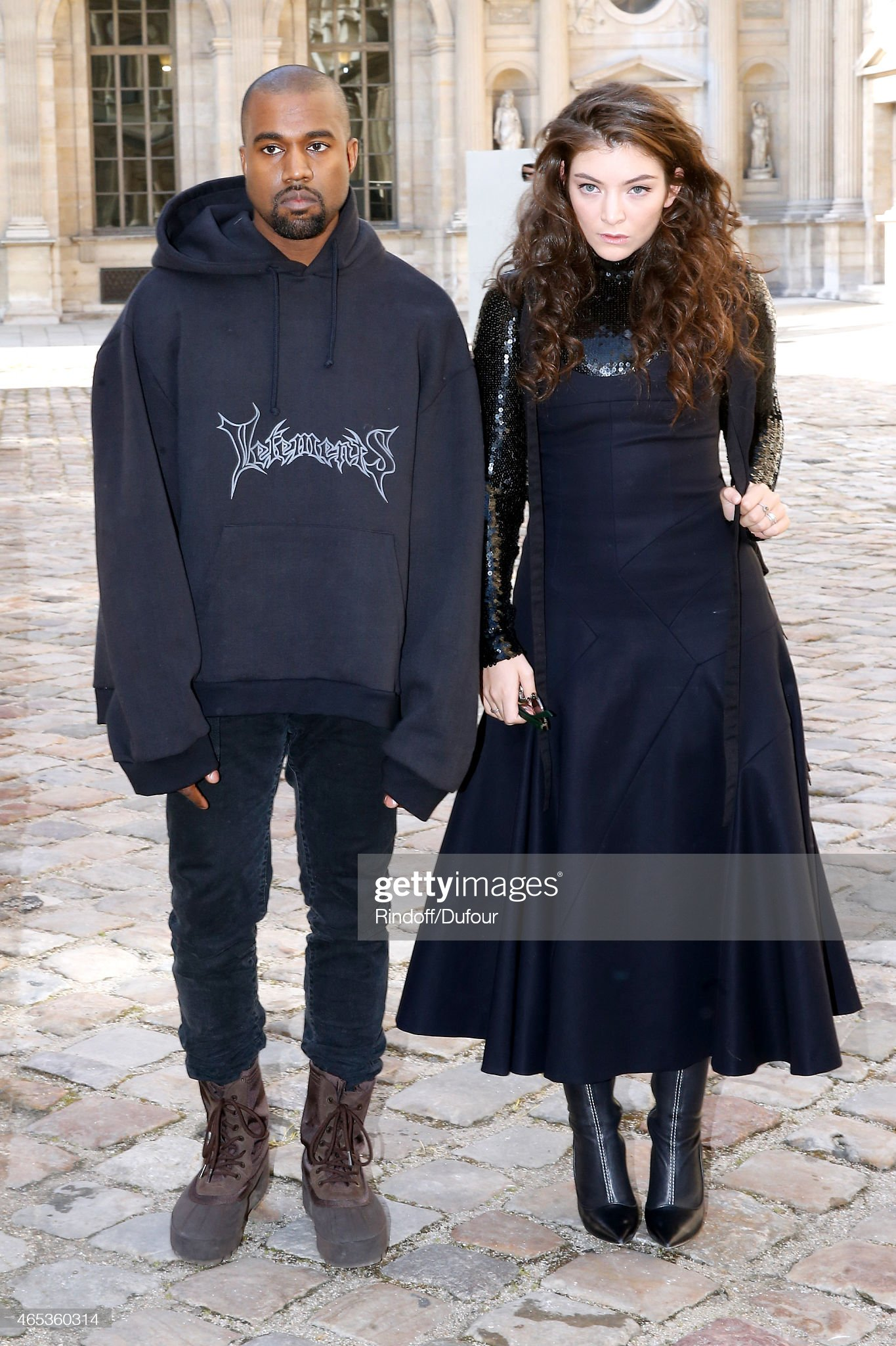 ¿Cuánto mide Kanye West? - Altura - Real height Kanye-west-and-lorde-attend-the-christian-dior-show-as-part-of-the-picture-id465360314?s=2048x2048