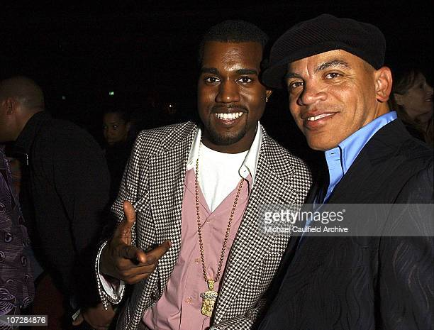 Kanye West and Rickey Minor during LA Chapter of The Recording Academy with EIF Celebrate the Music of Earth Wind Fire at GRAMMY Jam 2004 VIP...