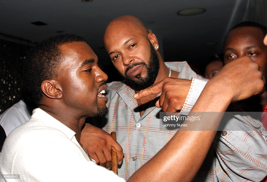 Kanye West Hosts G.O.O.D Music Pre Vma Party : News Photo