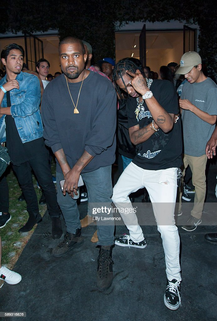 "Travis Scott Music Video Premiere Party For ""Pick Up The Phone 90210"""