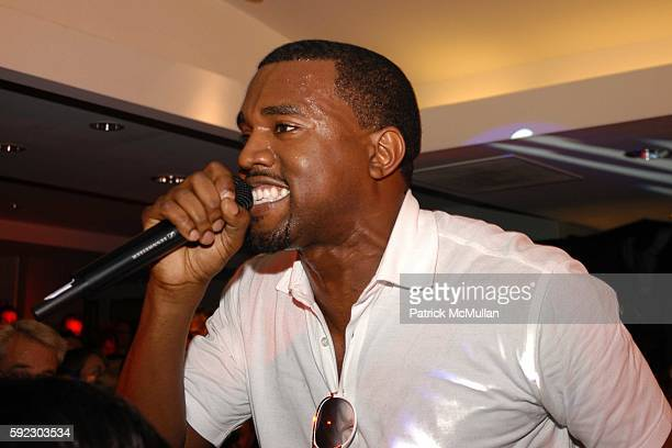 Kanye West attends Elle and Bloomingdale's celebrate the magazine's 21st birthday with a VIP bash benefiting EIF's National Colorectal Cancer...