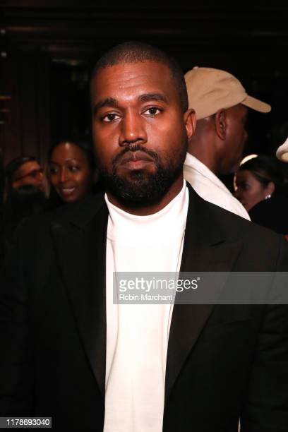 Kanye West attends Jim Moore Book Event At Ralph Lauren Chicago on October 28 2019 in Chicago Illinois