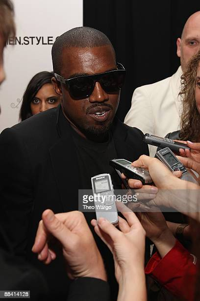 Kanye West attends MenStyleCom's 3rd Annual Women of Fashion at The New York Palace Hotel on June 10 2009 in New York City