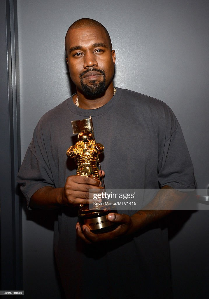 Kanye West attends the 2015 MTV Video Music Awards at Microsoft Theater on August 30, 2015 in Los Angeles, California.