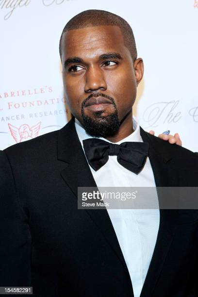 Kanye West attends the Angel Ball 2012 at Cipriani Wall Street on October 22 2012 in New York City