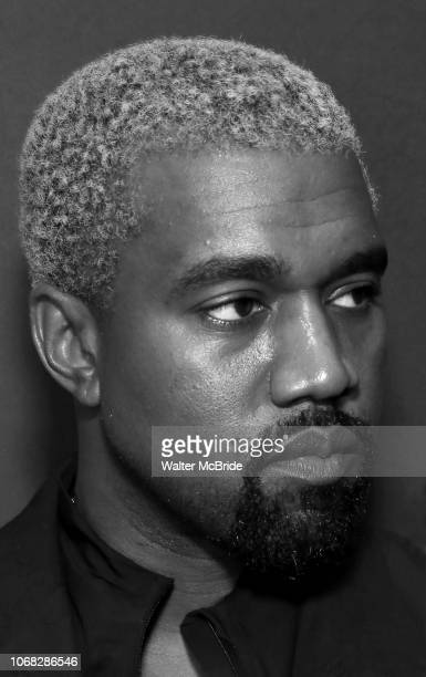 Kanye West attends the Broadway Opening Night Performance of 'The Cher Show' at the Neil Simon Theatre on December 3 2018 in New York City