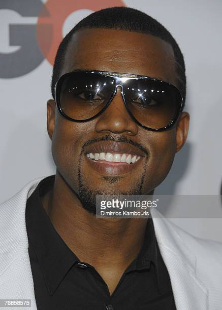 Kanye West attends the GQ Magazine 50th Anniversary Party at Cedar Lake on September 18 2007 in New York City