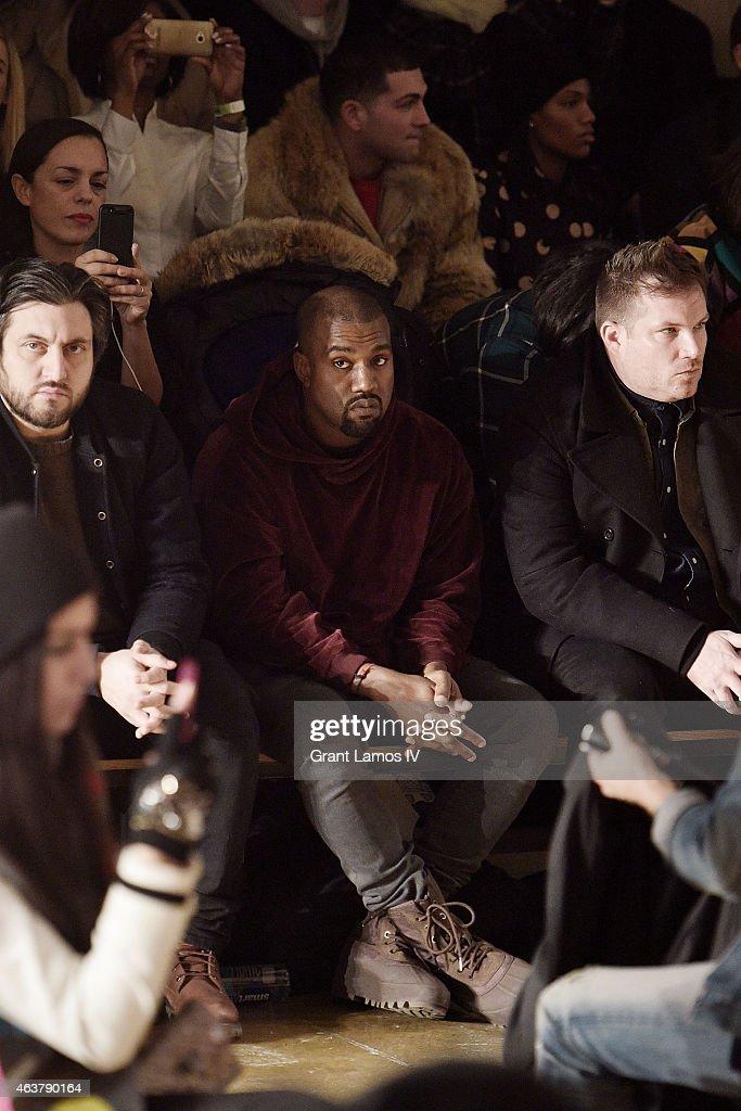 Jeremy Scott - Front Row - MADE Fashion Week Fall 2015 : News Photo