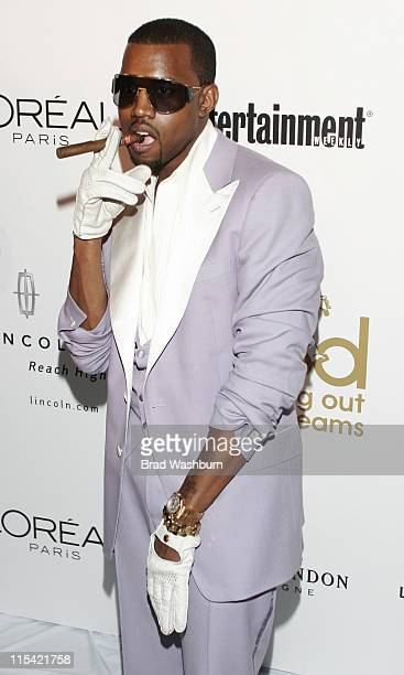 Kanye West during GOOD Music GRAMMY After Party at Heaven in Los Angeles California United States