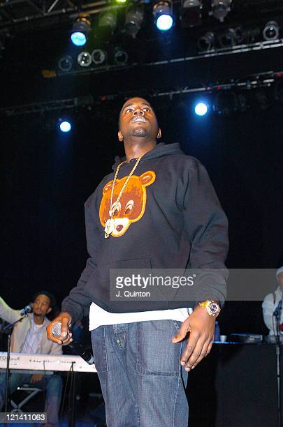 Kanye West during Kanye West Live in Concert - May 20, 2004 at The Forum in London, England, Great Britain.