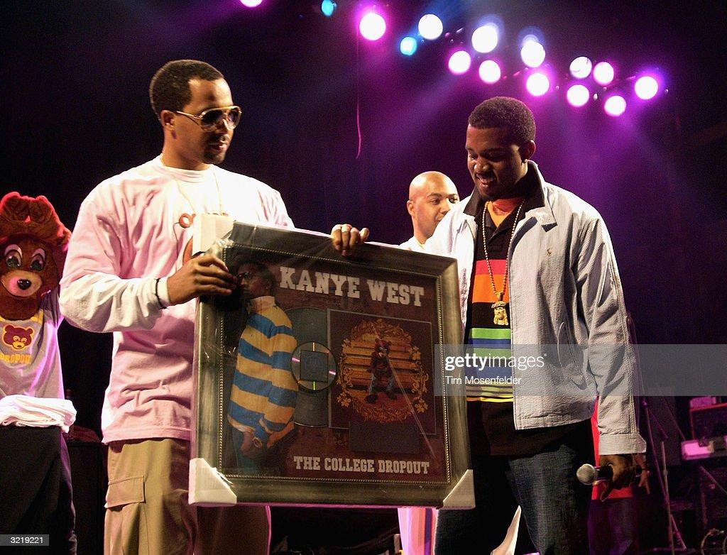 Kanye West Concert and Platinum Album Presentation : News Photo