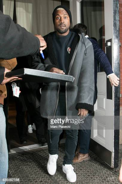 Kanye West is seen on February 15 2017 in New York City