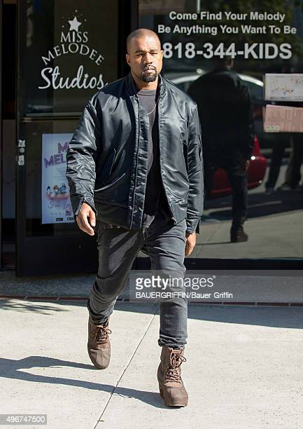 Kanye West is seen on November 11 2015 in Los Angeles California