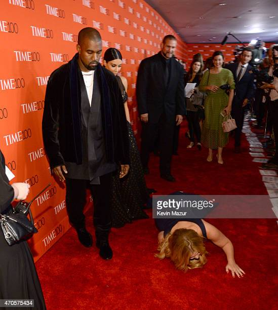 Kanye West, Kim Kardashian West and Amy Schumer attend TIME 100 Gala, TIME's 100 Most Influential People In The World at Jazz at Lincoln Center on...