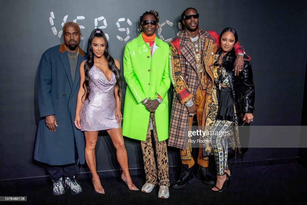 Versace Fall 2019 - Arrivals : News Photo