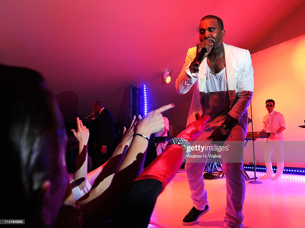 Red Granite Party - Performance - 64th Annual Cannes Film Festival : News Photo
